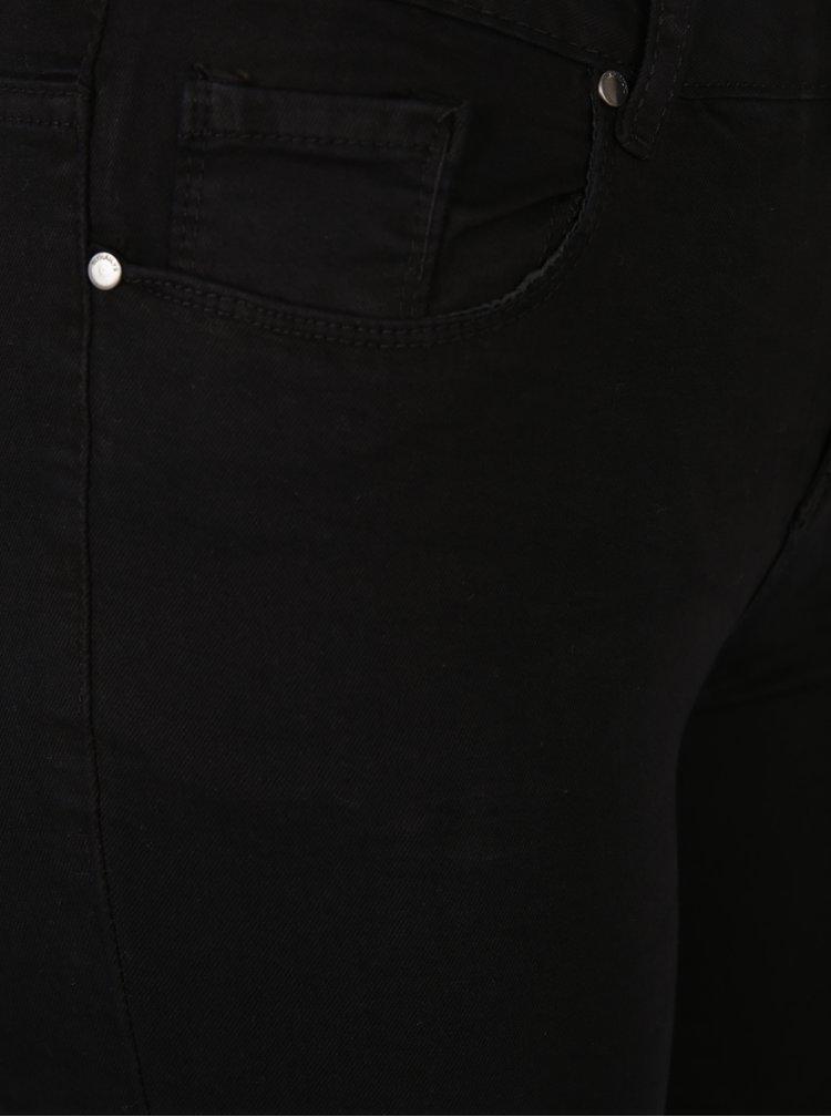 Černé džíny s potrhaným efektem Haily´s Netty