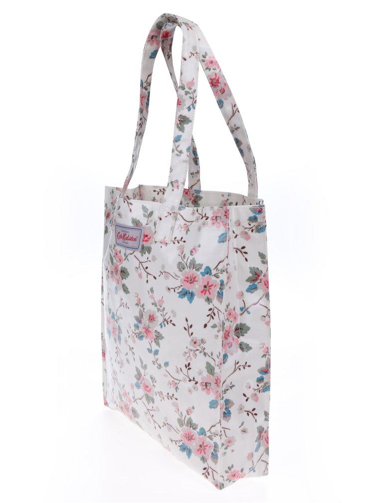 Krémová dámská květovaná taška Cath Kidston