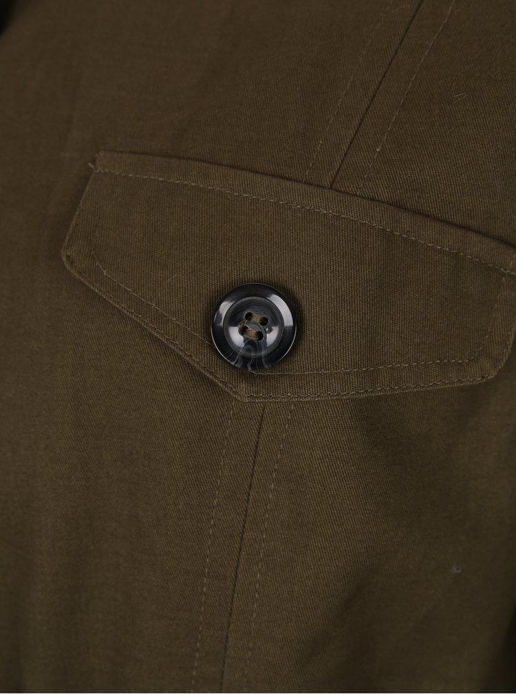 Khaki parka s výšivkami Haily´s Embry
