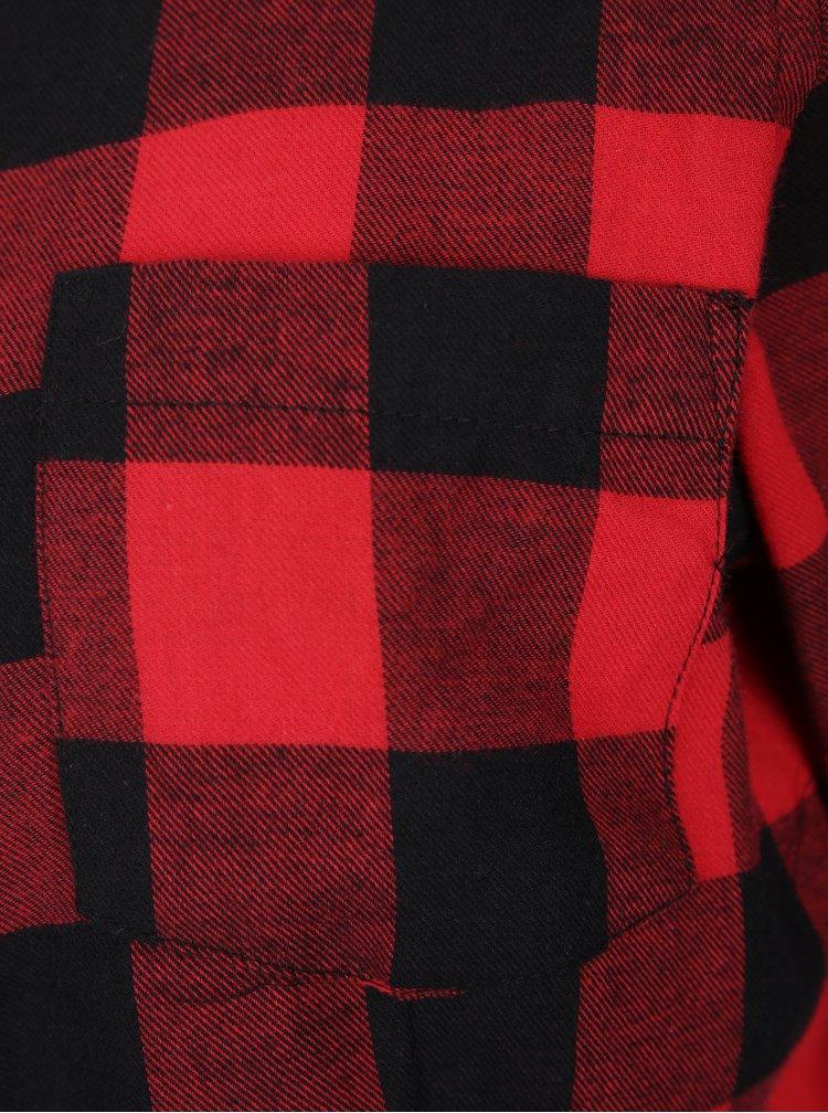 Černo-červená kostkovaná košile Haily´s Biljana