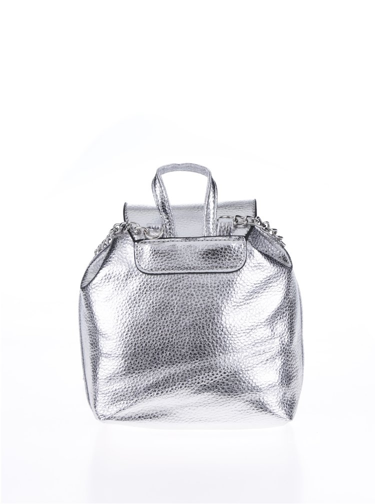 Metalická crossbody kabelka ve stříbrné barvě Haily´s Gilly