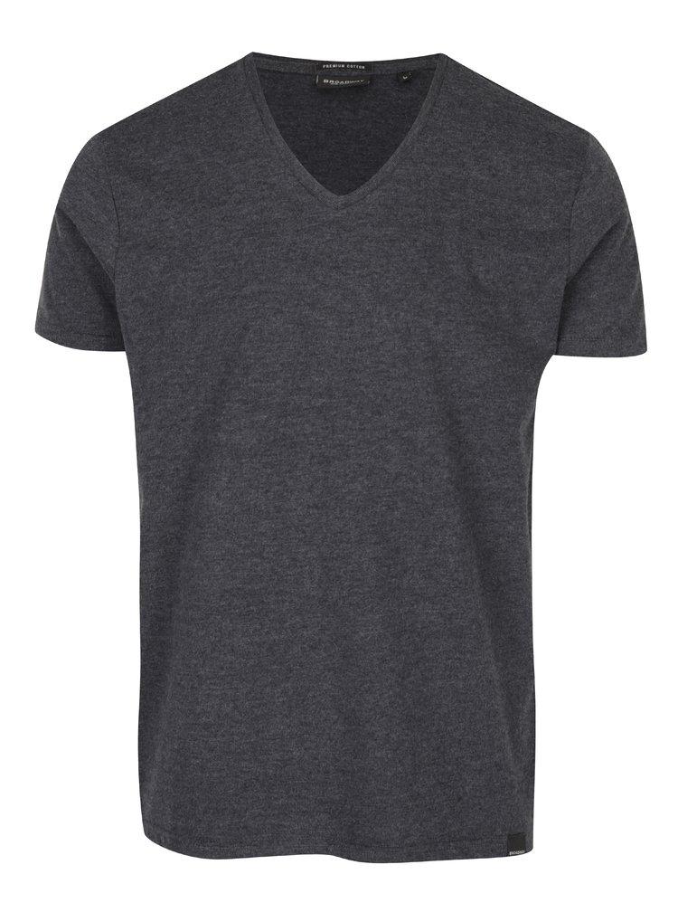 Tricou gri pentru barbati Broadway Garet