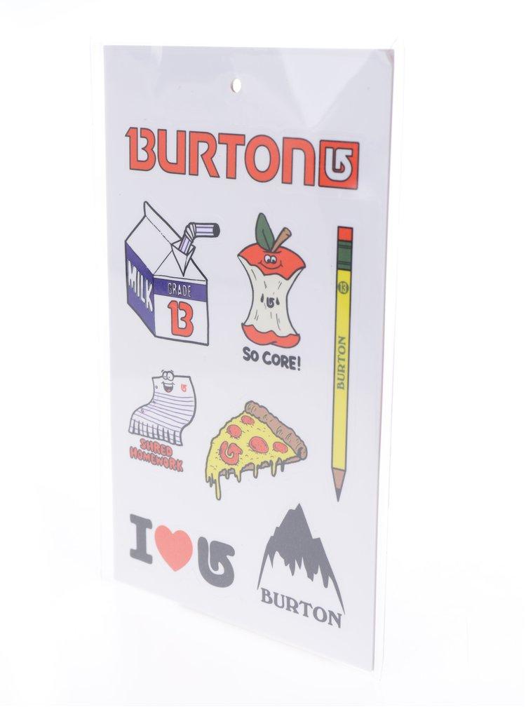 Fialový holčičí vzorovaný penál Burton Token