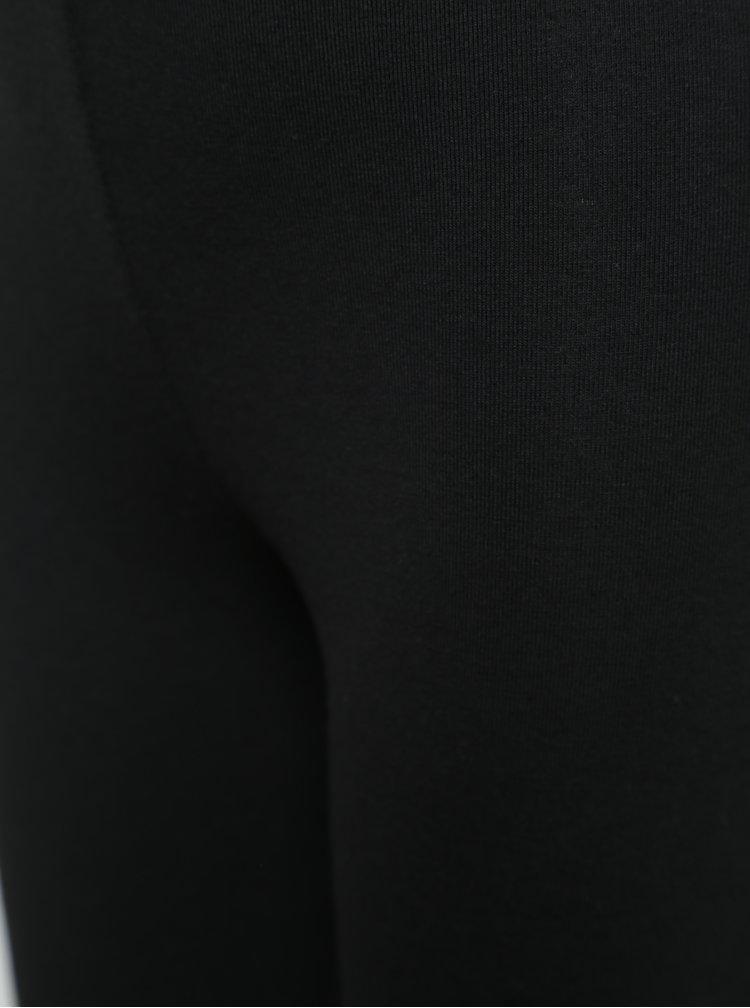 Černé holčičí legíny s motivem ptáčků BÓBOLI