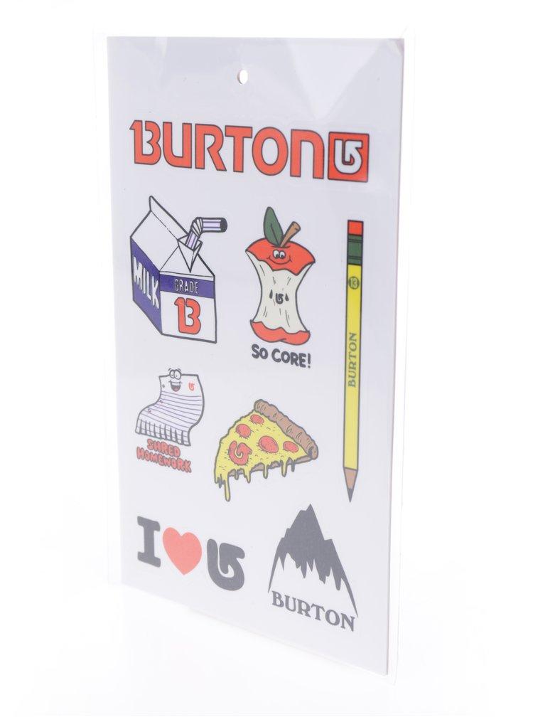 Modro-šedý dětský penál s potiskem vlků Burton Token Switchback
