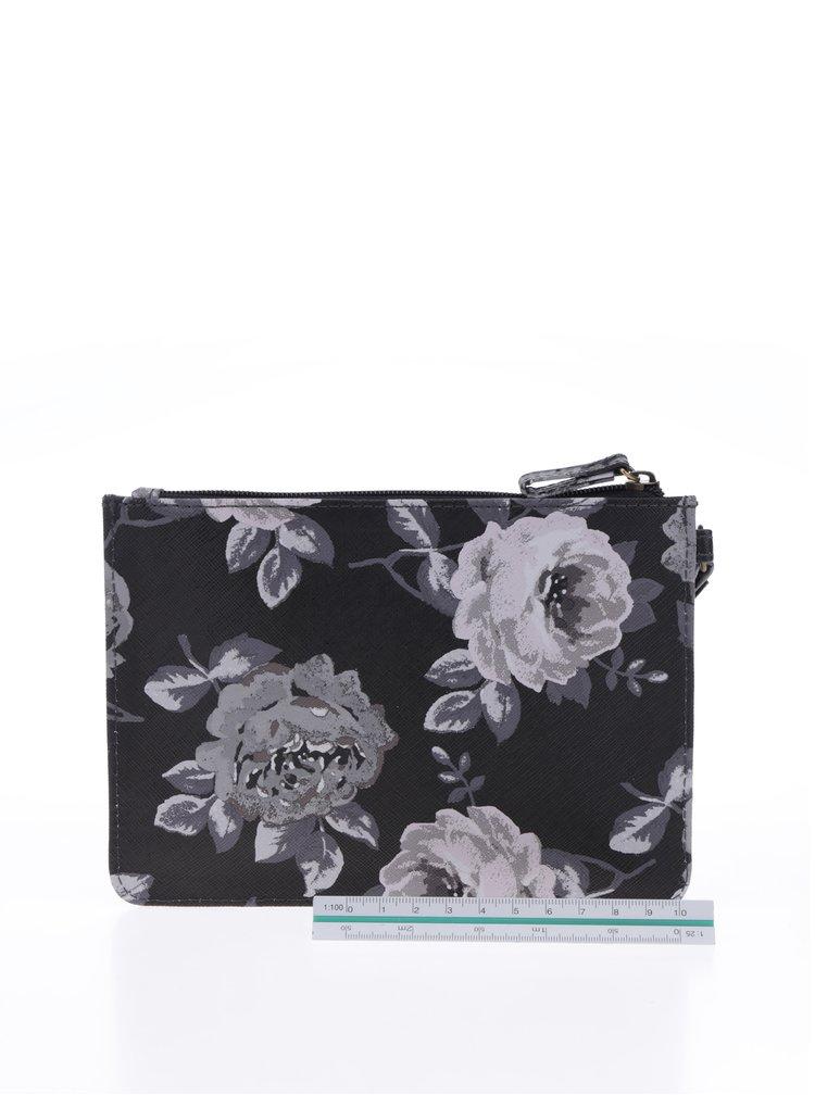 Krémovo-šedé květované psaníčko Cath Kidston