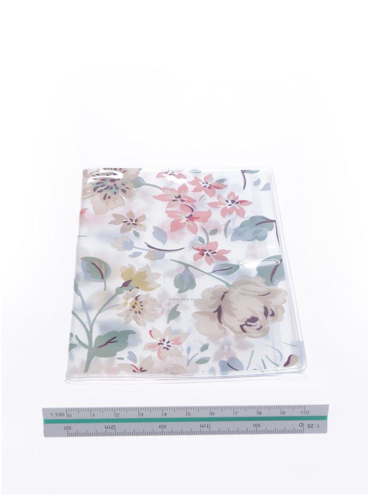 Průhledné květované pouzdro na doklady Cath Kidston