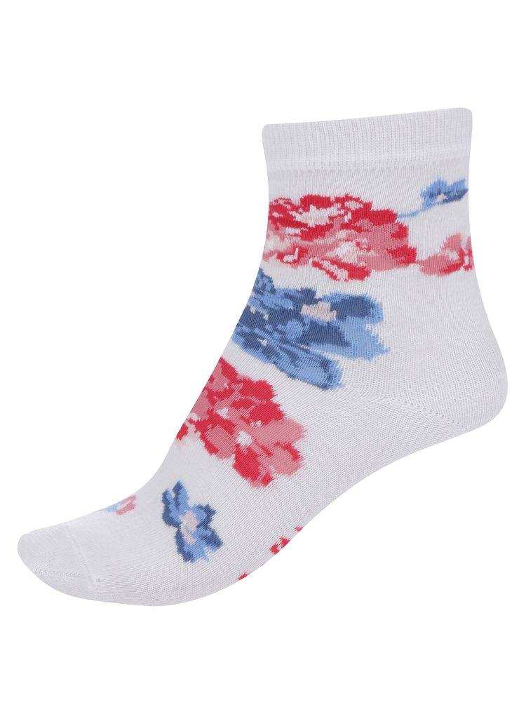 Krémové holčičí květované ponožky Cath Kidston