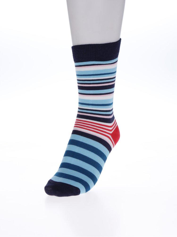 Sada třech párů dámských ponožek v modré a červené barvě Tom Joule Brilliant Bamboo Dog