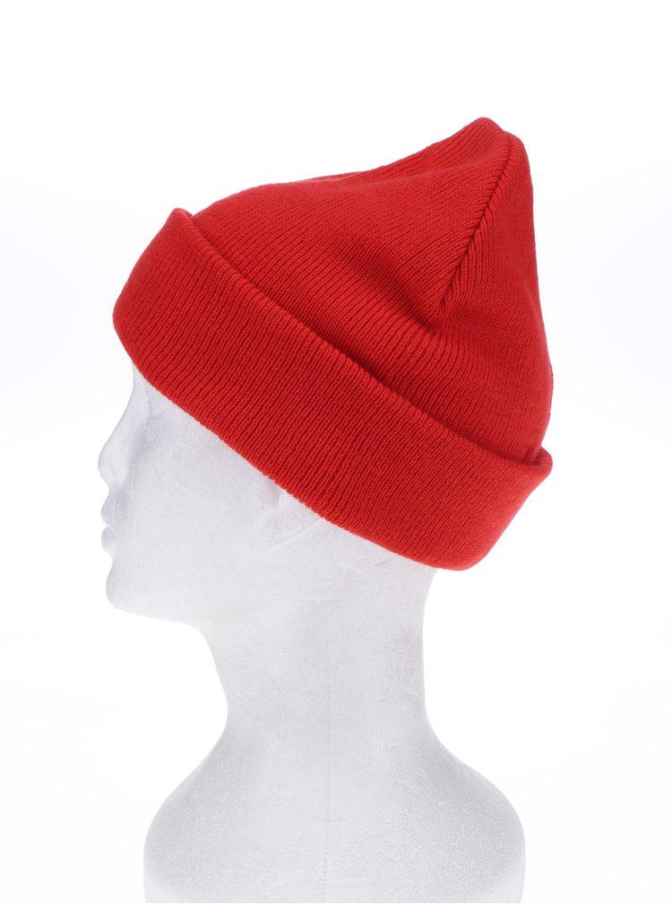 Červená čepice VERO MODA Maran