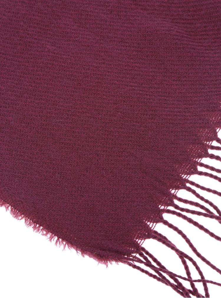 Eșarfă tricotată violet VERO MODA Solid