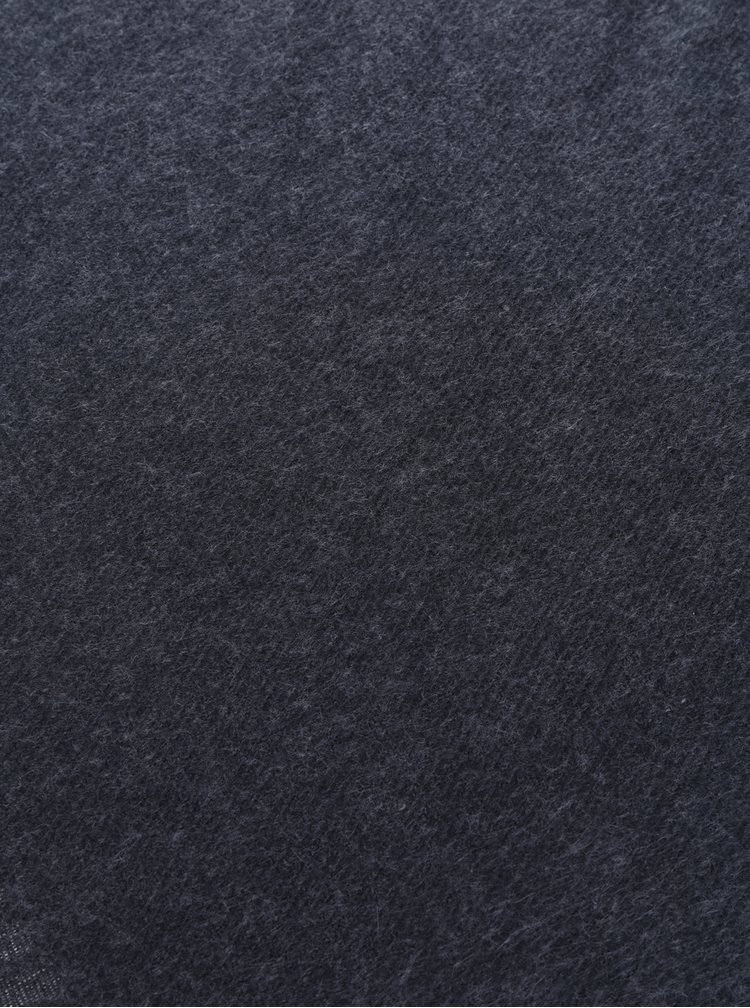 Tmavě šedá šála VERO MODA Solid