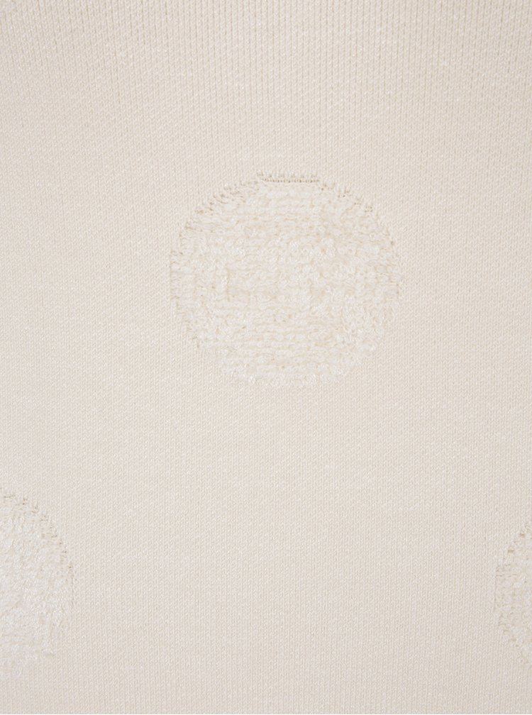 Krémový svetr s puntíky VERO MODA Baldwin