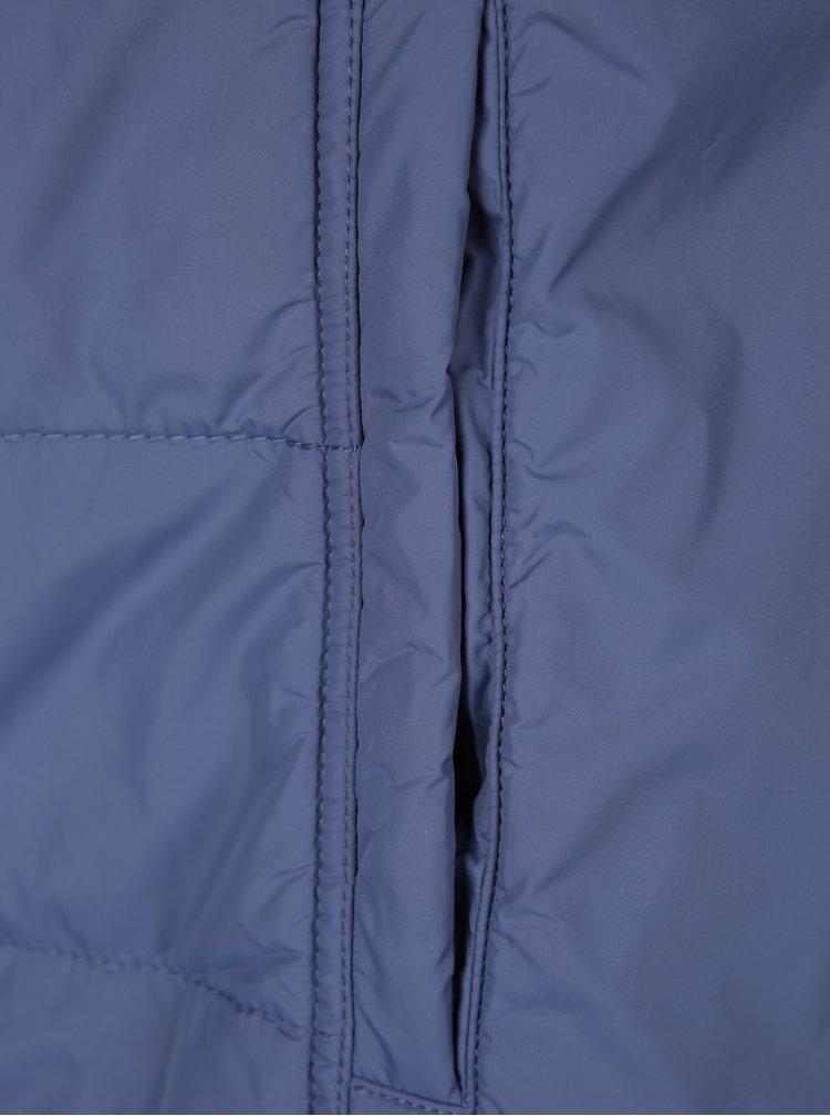 Modrá prošívaná bunda s kapsami Ulla Popken