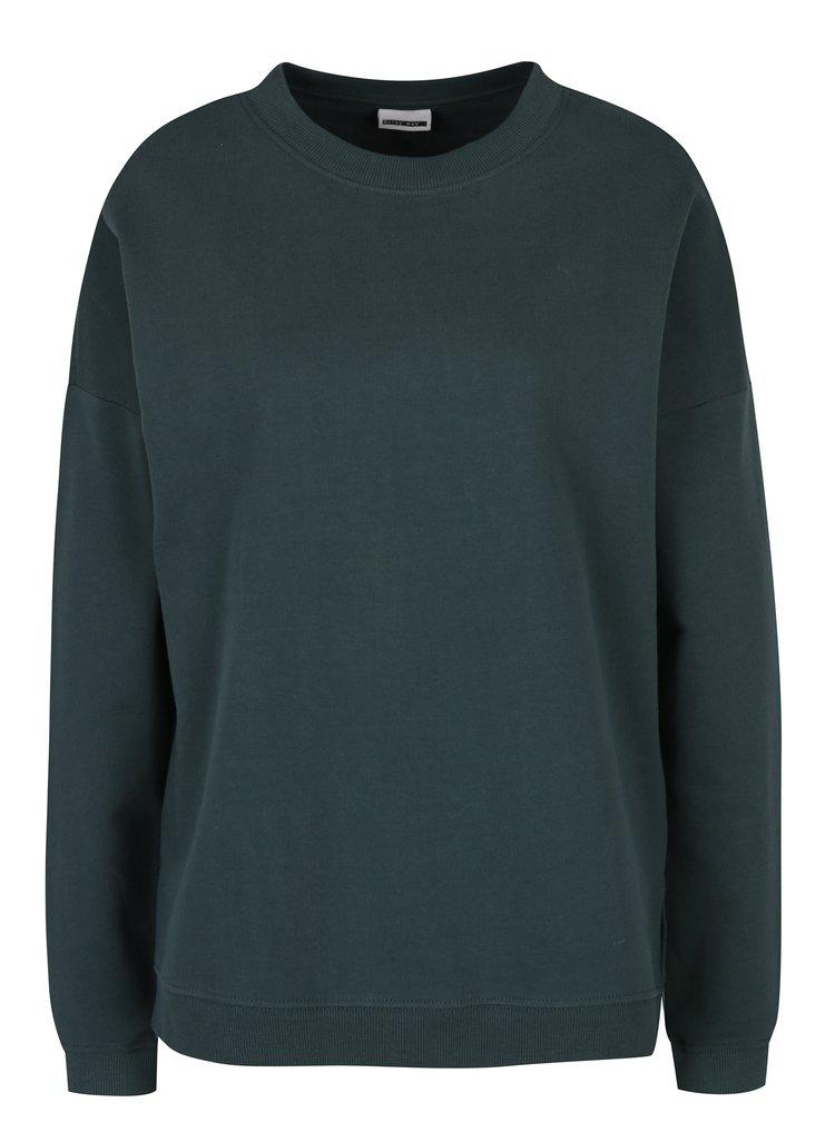 Bluză sport verde închis Noisy May Lucky