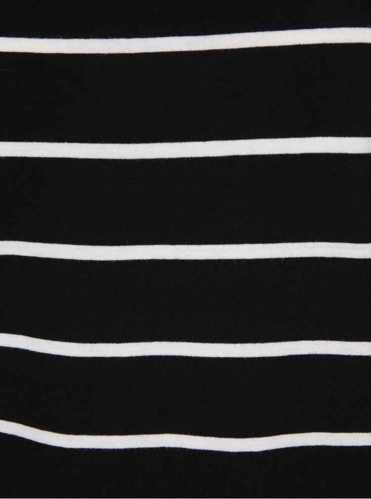 Tricou cu dungi negru & alb - ONLY Great
