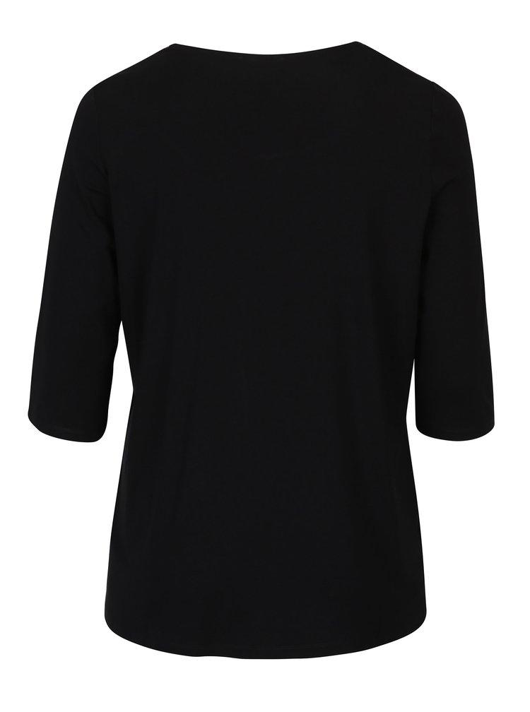 Bluza 2in1 negru&rosu - Ulla Popken