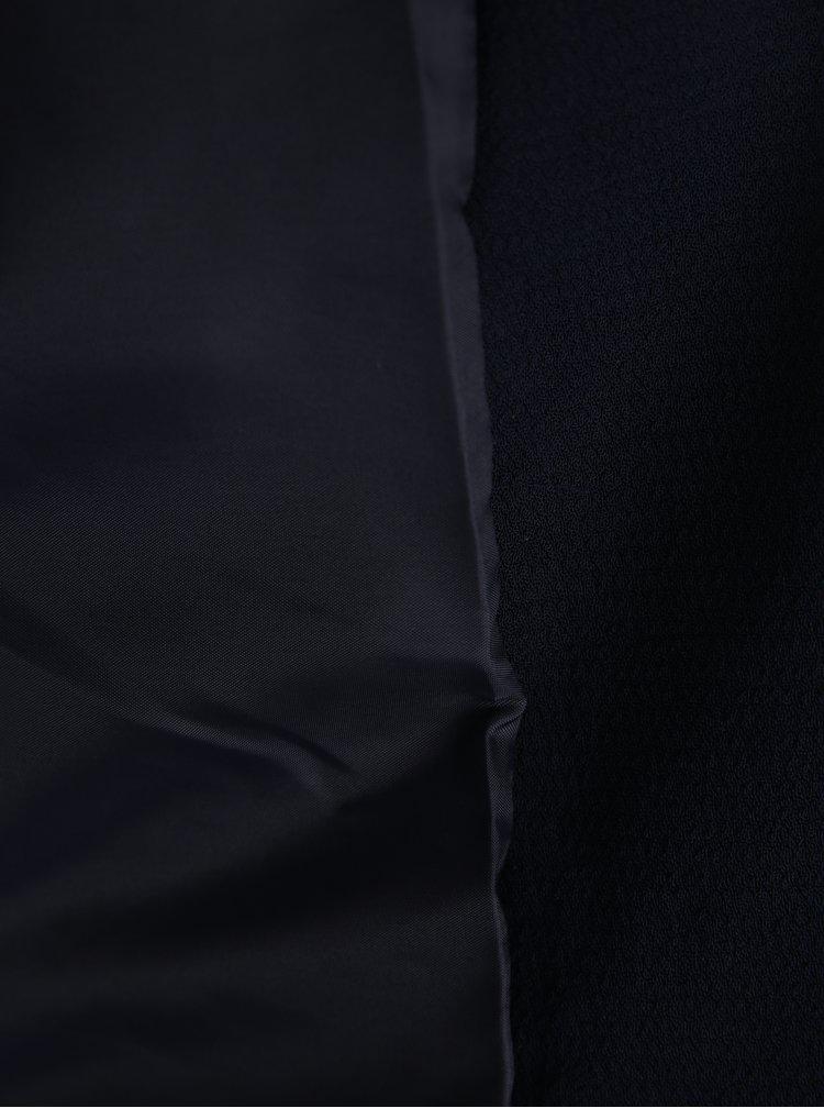 Sacou bleumarin cu fermoare argintii - ONLY Madeline Maddy
