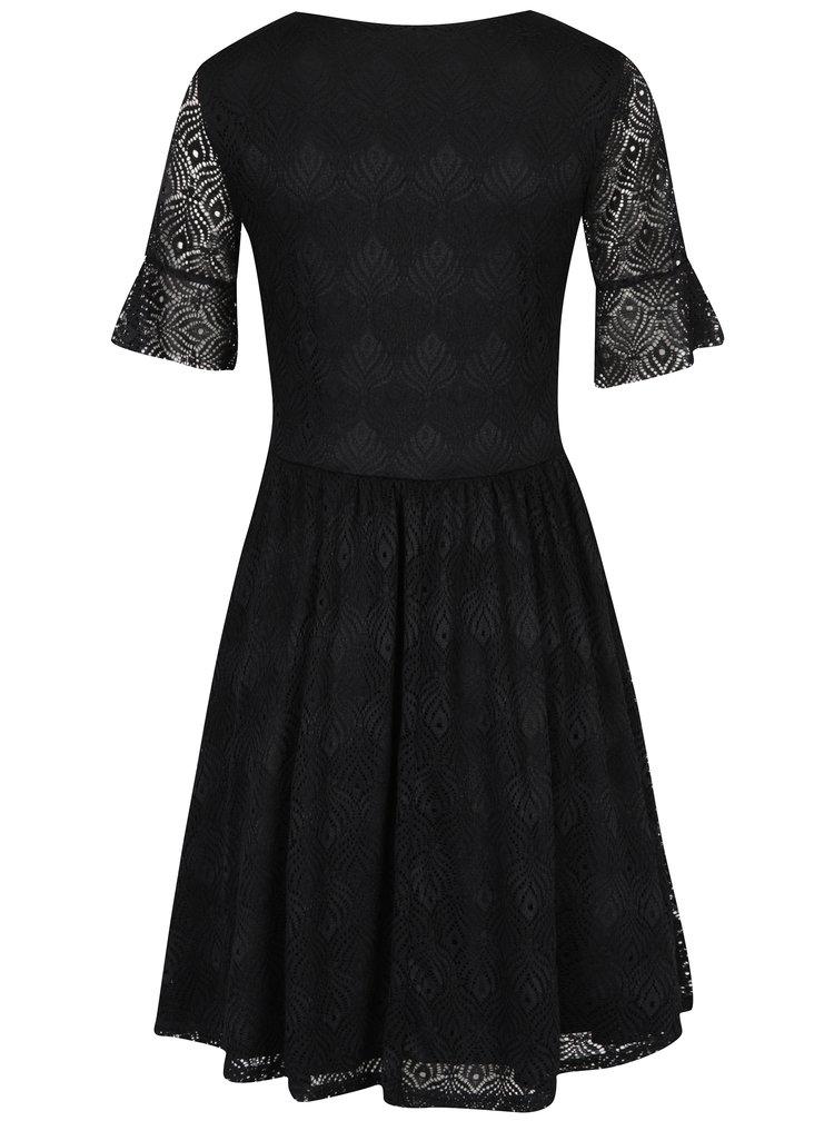 Rochie neagră din dantelă - VERO MODA Majse