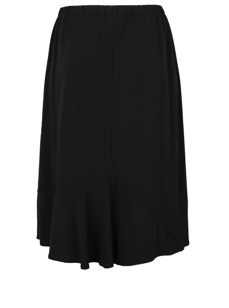 Černá áčková midi sukně Ulla Popken