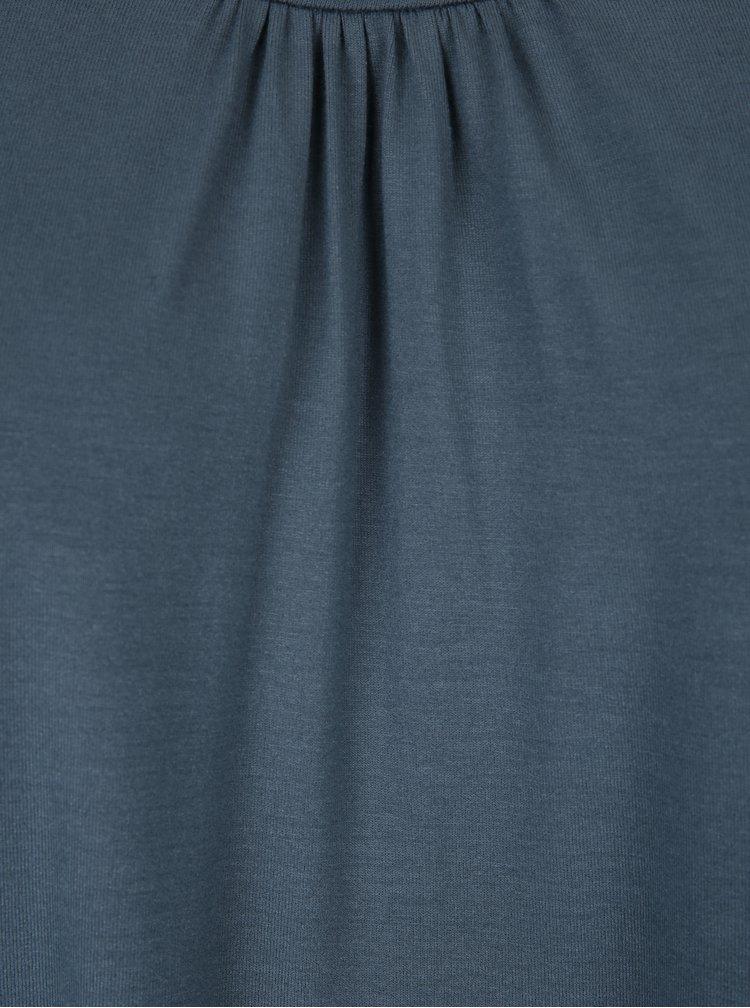 Tricou albastru petrol - Ulla Popken