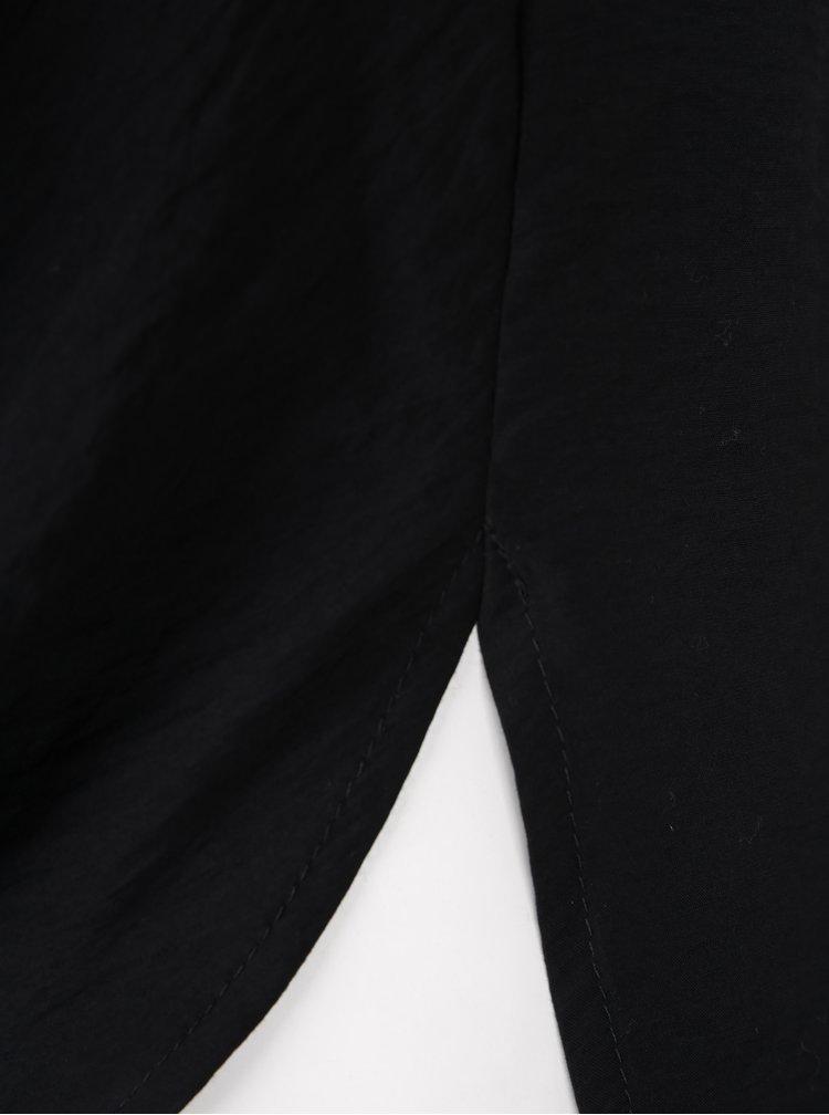 Bluza neagra cu nod decorativ - Ulla Popken