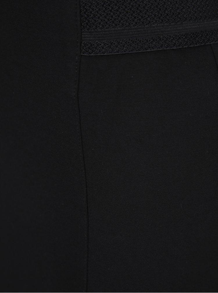 Černá pouzdrová sukně s pružným pasem VERO MODA Storm