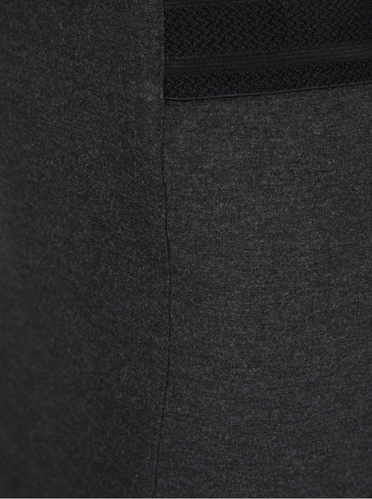 Tmavě šedá pouzdrová sukně s pružným pasem VERO MODA Storm