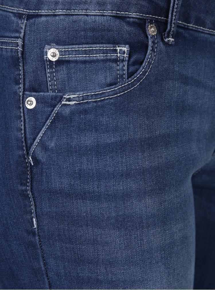 Modré slim džíny s nízkým pasem VERO MODA Five