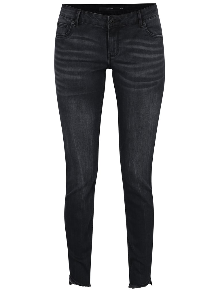 Blugi gri inchis slim fit - VERO MODA Five