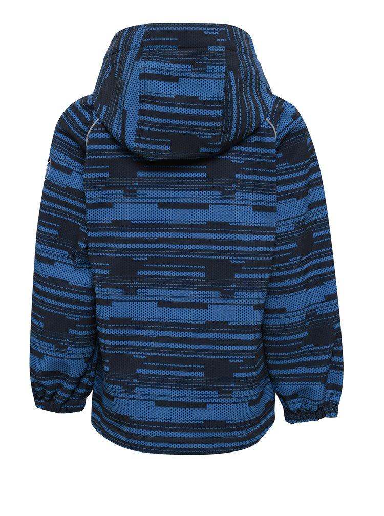 Modrá klučičí softshellová bunda name it Alfa