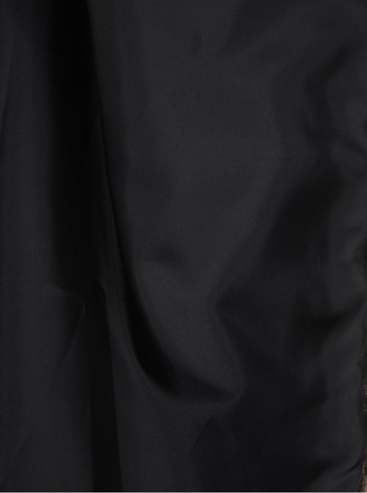 Hnědá vesta z umělé kožešiny VERO MODA Eda