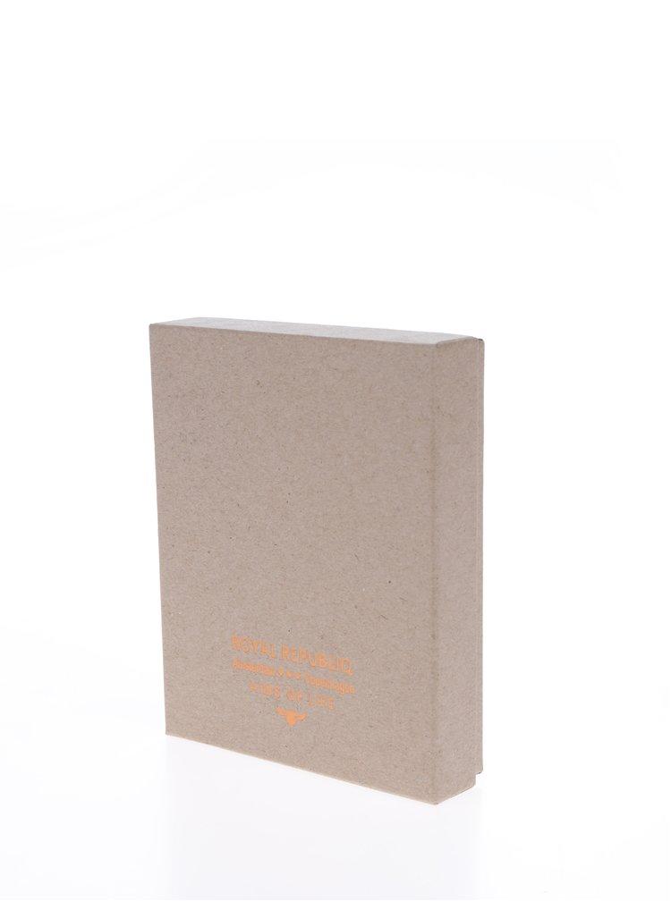 Černá pánská kožená peněženka Royal RepubliQ