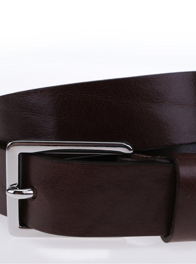 Tmavě hnědý dámský kožený pásek Royal RepubliQ