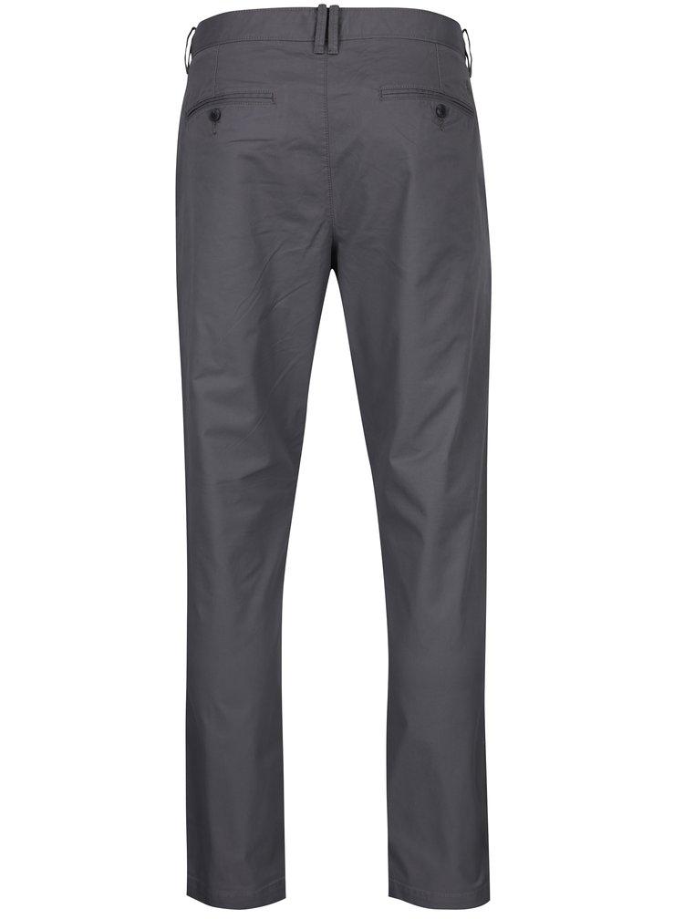 Šedé slim chino kalhoty Original Penguin Fracus