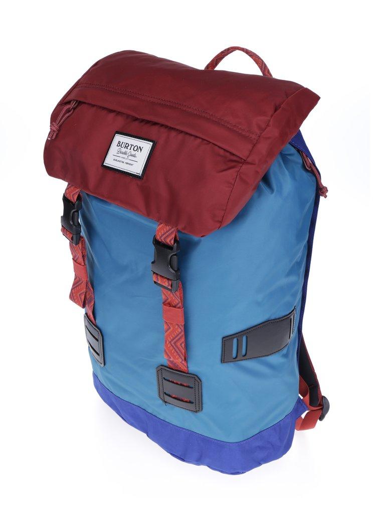 Cihlovo-tyrkysový unisex batoh Burton Tinder Pack 25 l