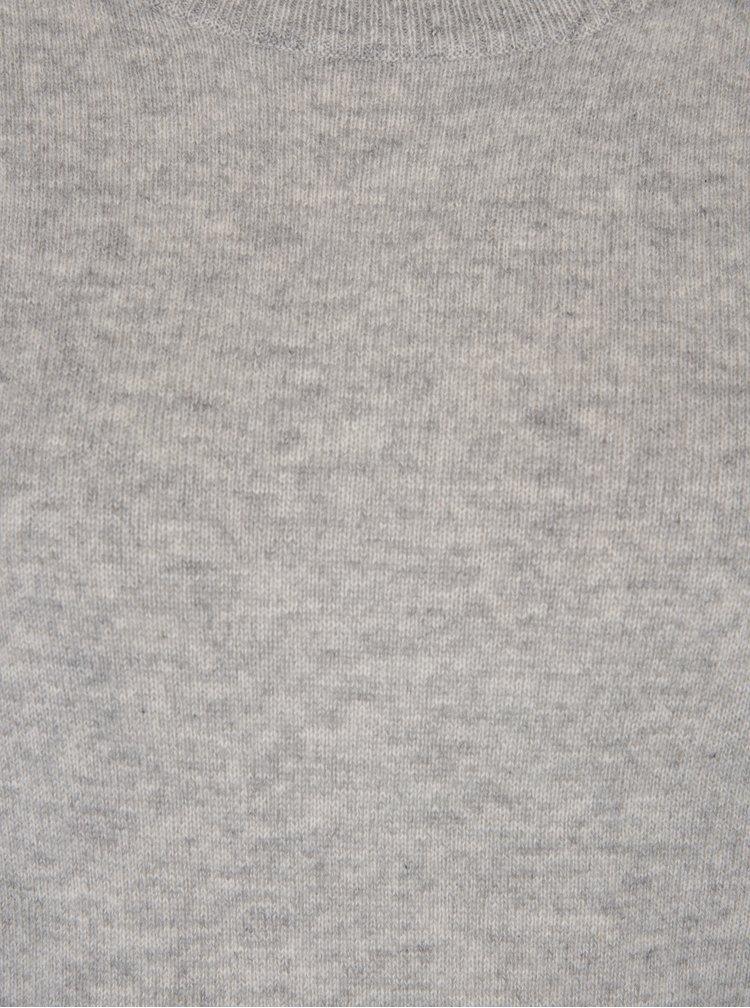 Šedý kašmírový svetr Selected Femme Aya