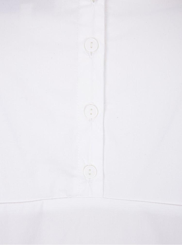 Bílá halenka se zvonovými rukávy Selected Femme Balinna