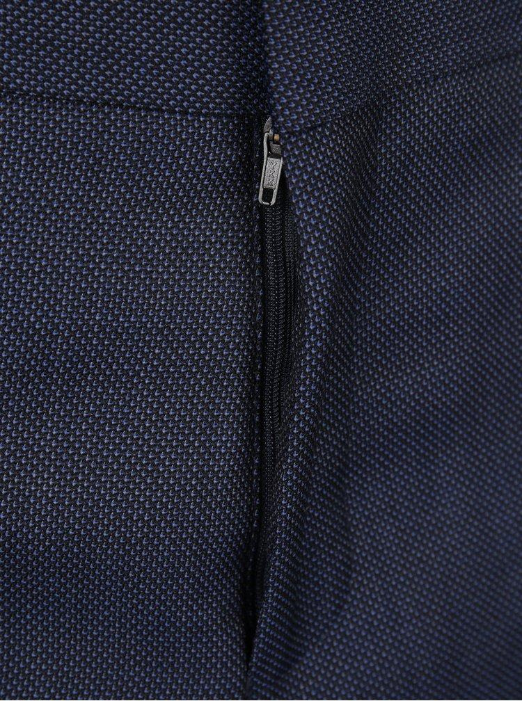 Tmavě modré oblekové kalhoty Jack & Jones Premium Thom