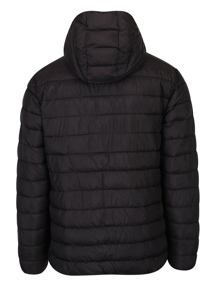 Černá bunda s kapucí ONLY & SONS Eddi