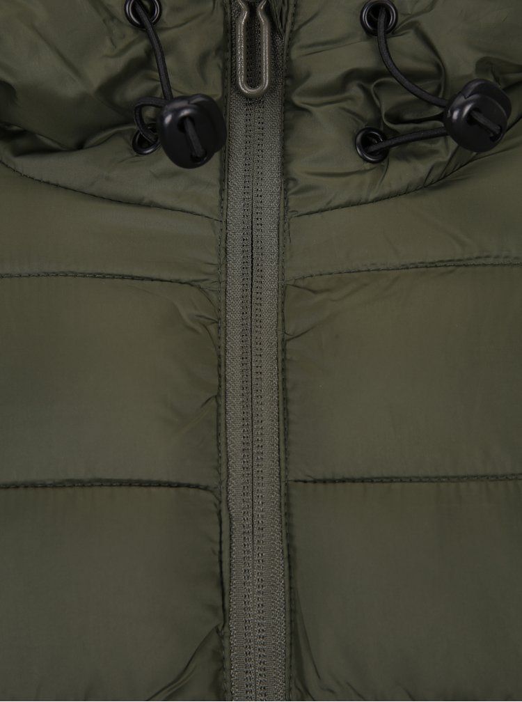 Khaki bunda s kapucí ONLY & SONS Eddi