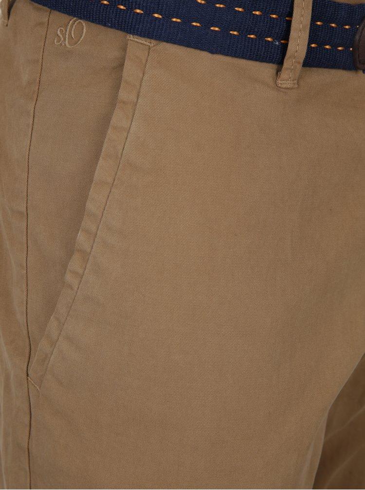 Pantaloni maro slim fit s.Oliver
