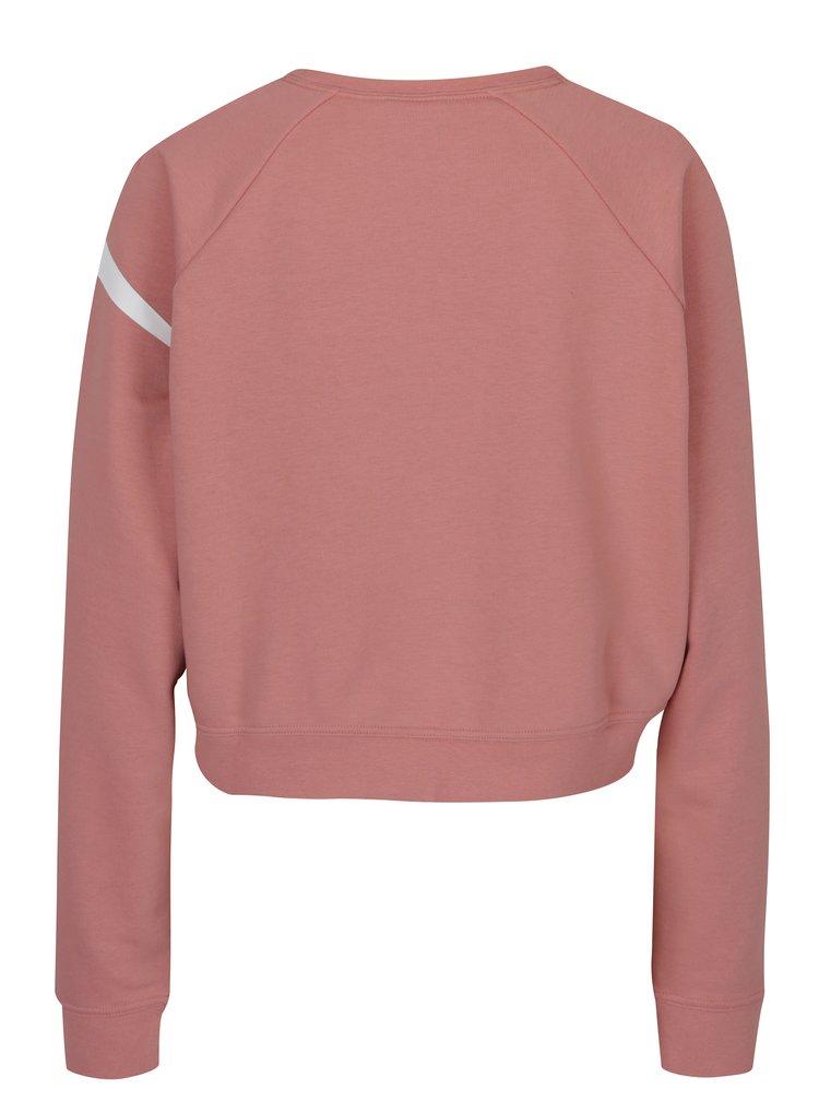 Bluză crop corai cu logo Nike