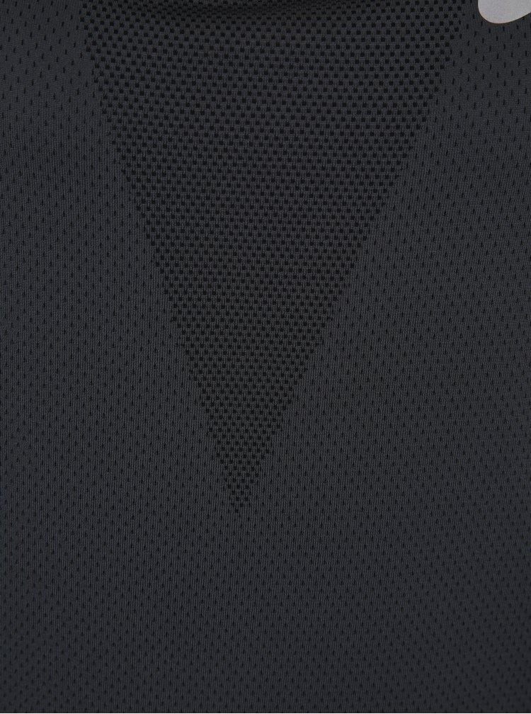 Tmavě šedé dámské funkční tílko Nike