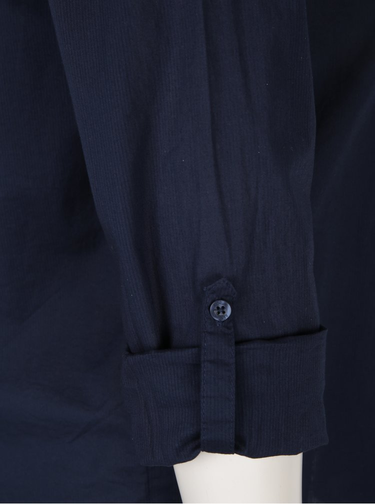Camasa bleumarin cu detalii decorative S. Oliver