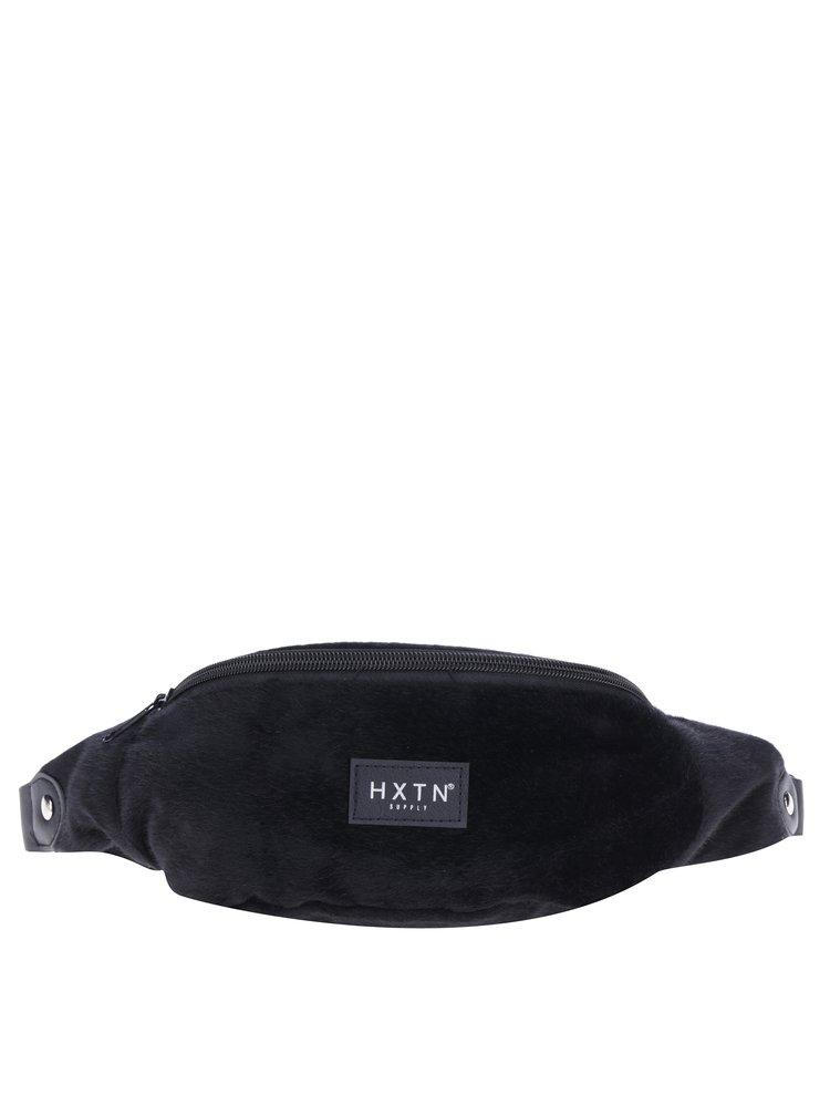Černá ledvinka z umělé kožešiny HXTN supply