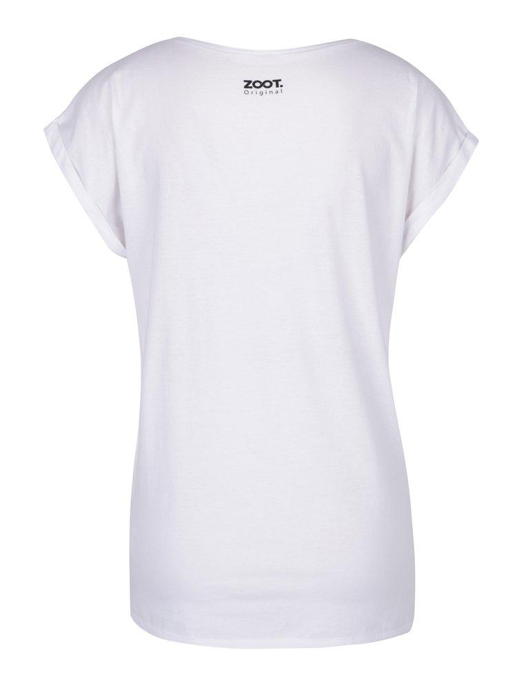 Bílé dámské tričko ZOOT Originál Mám to nalinkovaný