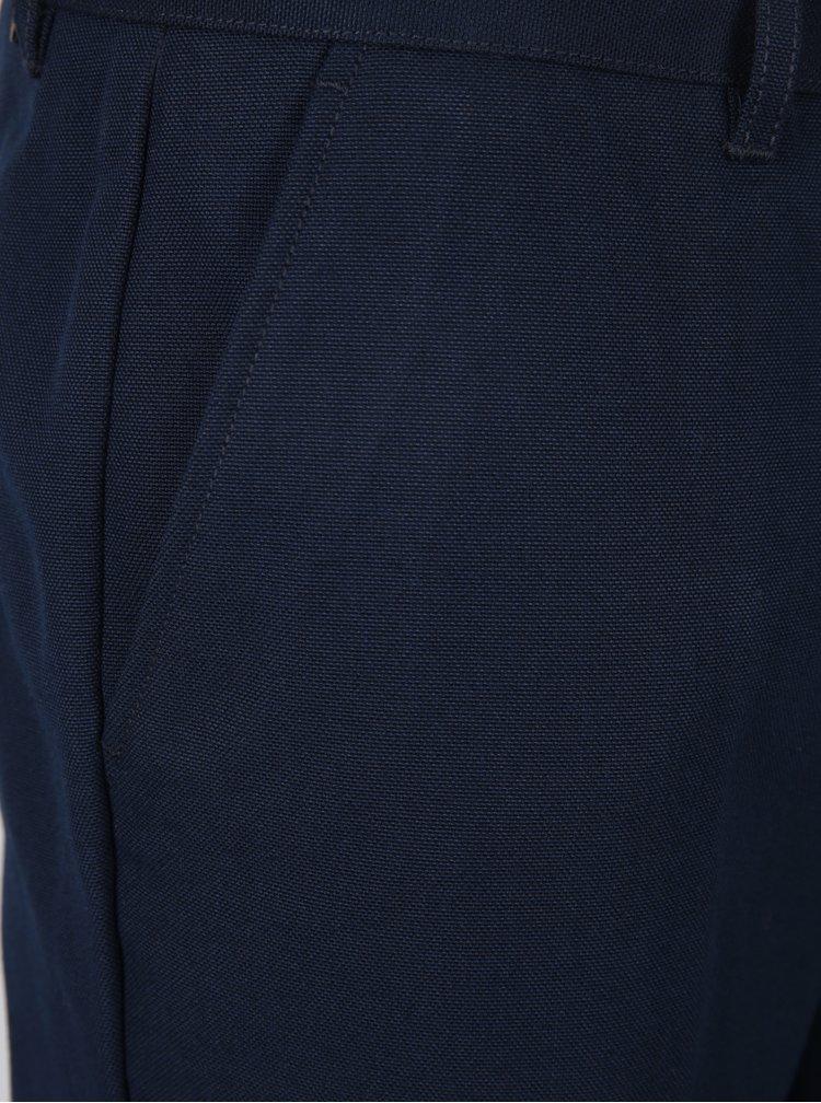 Tmavě modré chino kalhoty Farah Basset