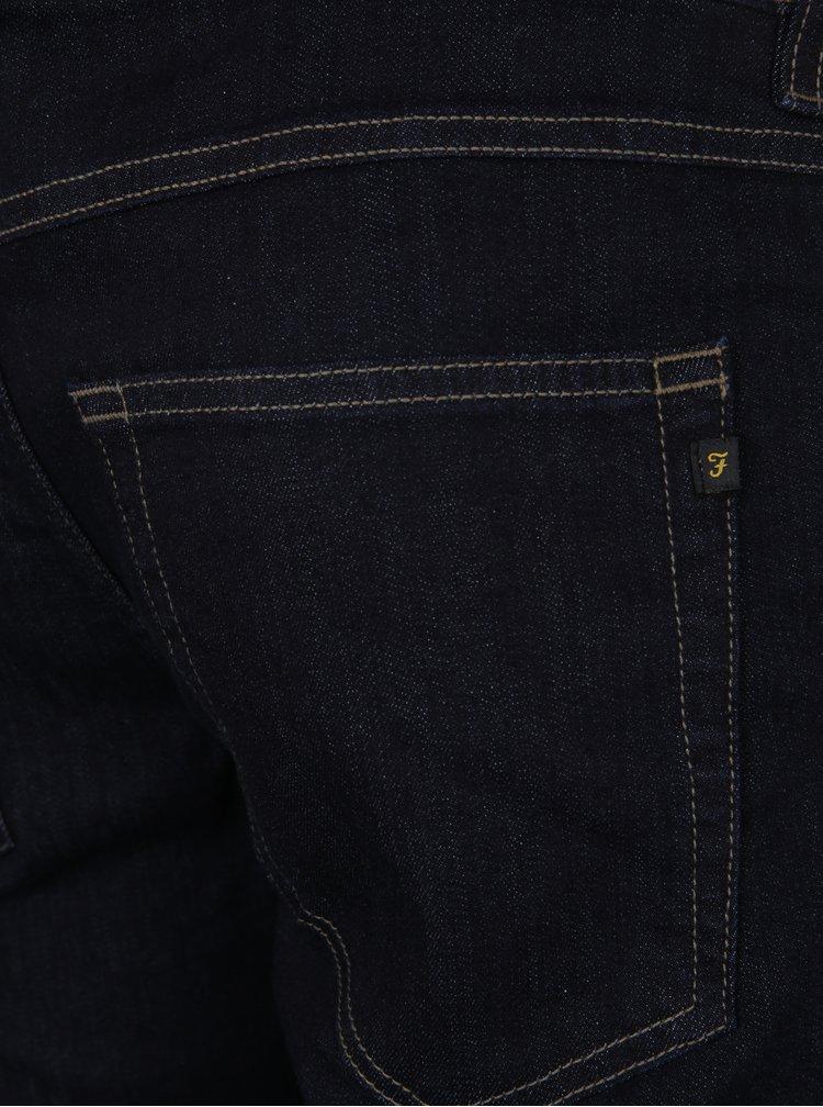 Tmavě modré džíny Farah Drake