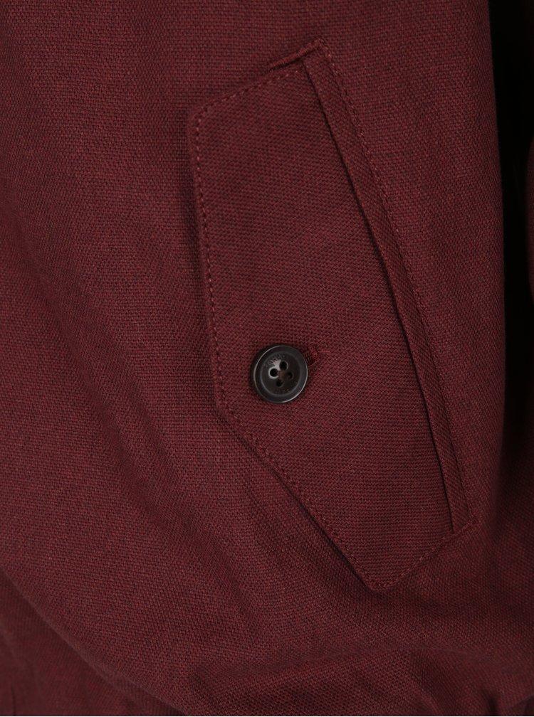 Jachetă vișinie - Farah McGregor